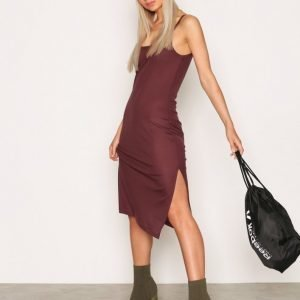 Blk Dnm Dress 5 Skater Mekko Amethyst