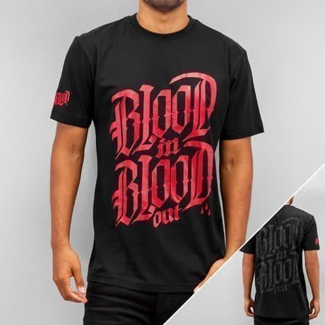 Blood In Blood Out T-paita Musta