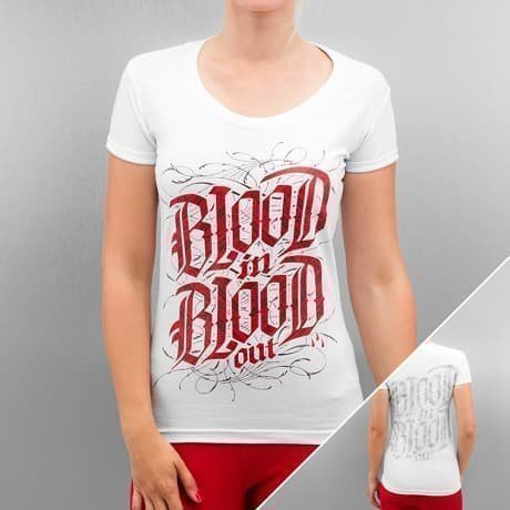 Blood In Blood Out T-paita Valkoinen