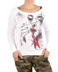 Bloodspill Sweater White