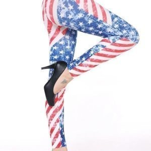 Blue Star Leggings Tights