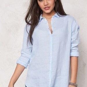 Boomerang Linn Linen Shirt 801 Ice Blue