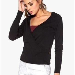 Boomerang Marhult Wrap Sweater 099 Black