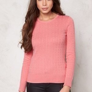 Boomerang Poppa Cable Sweater 911 Peach