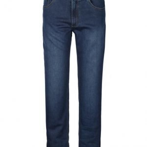 Boston Park Denimjoggersit Dark Blue