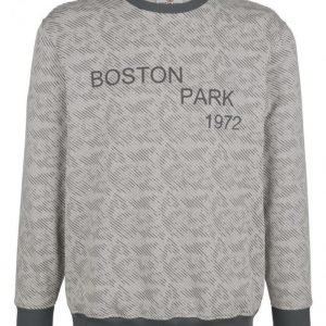 Boston Park Svetari Hopeanharmaa / Tummanharmaa
