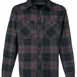 Brandit Elastic Checkshirt Kauluspaita