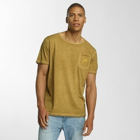 Brave Soul T-paita Keltainen