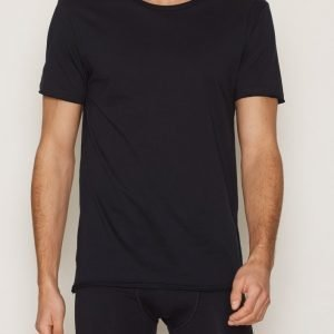Bread & Boxers Crew Neck Relaxed T-shirt Loungewear Navy