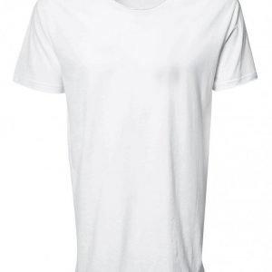 Bread & Boxers Crew Neck Relaxed T-shirt Loungewear Valkoinen