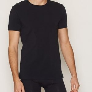 Bread & Boxers Crew Neck T-shirt Loungewear Dark Navy