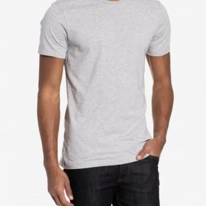 Bread & Boxers Crew Neck T-shirt Loungewear Grey Melange