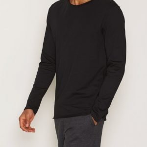 Bread & Boxers Long-Sleeve relaxed Loungewear Black