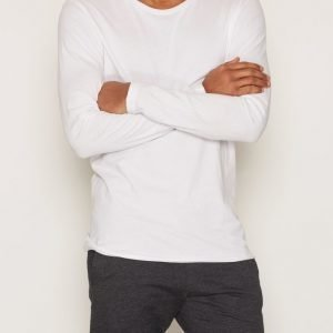 Bread & Boxers Long-Sleeve relaxed Loungewear White