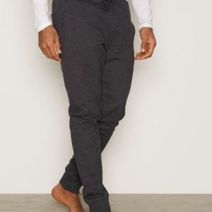 Bread & Boxers Lounge Pant Loungewear Dark Grey Melange
