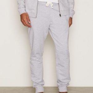 Bread & Boxers Lounge Pant Loungewear Grey Melange
