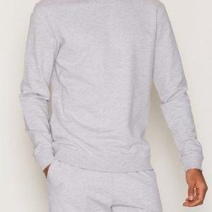 Bread & Boxers Sweatshirt Loungewear Grey Melange