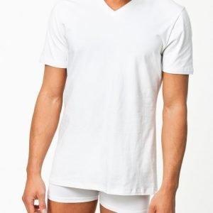 Bread & Boxers V Neck T-shirt Loungewear Valkoinen