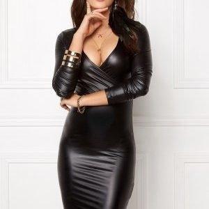 Bubbleroom Casino shiny dress Black