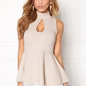 Bubbleroom Drop-it top Beige