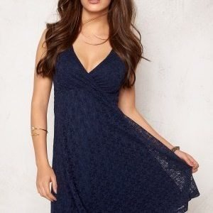 Bubbleroom Paris lace dress Dark blue