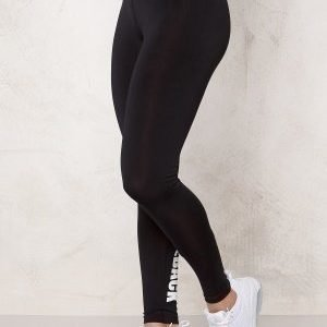 Bubbleroom Sport Conquer train tights Black