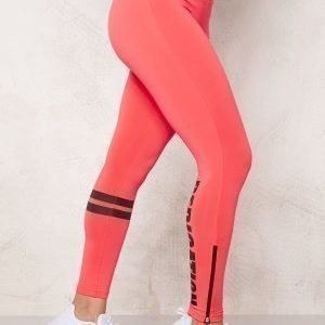 Bubbleroom Sport Shape train tights Hot pink
