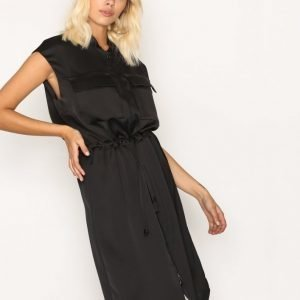 By Malene Birger Aiyana Dress Loose Fit Mekko Black