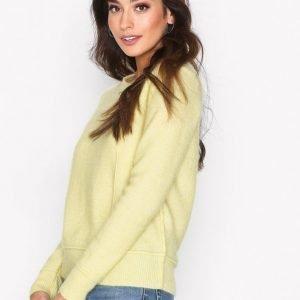 By Malene Birger Balancia Knitwear Neulepusero Yellow