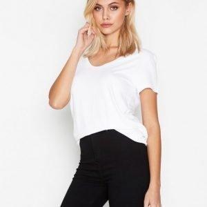 By Malene Birger Fevia T-Shirt T-Paita Pure White