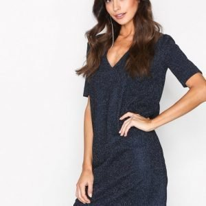By Malene Birger Gliitasi Dress Kotelomekko Blue Velvet
