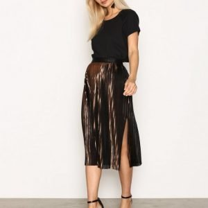 By Malene Birger Iauno Skirt Midihame Copper