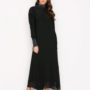 By Malene Birger Lucillas Dress Pitkähihainen Mekko Black