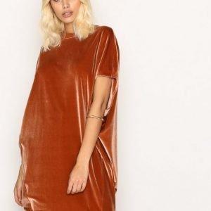 By Malene Birger Nitrak Dress Loose Fit Mekko Cognac