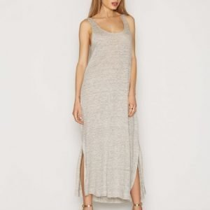By Malene Birger Nuba Dress Maksimekko Light Grey Melange