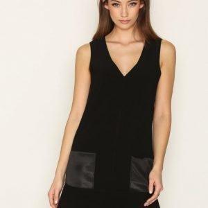 By Malene Birger Rosiala Dress Loose Fit Mekko Black