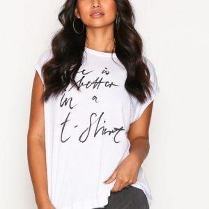 By Malene Birger Vandun T-Shirt T-Paita Pure White