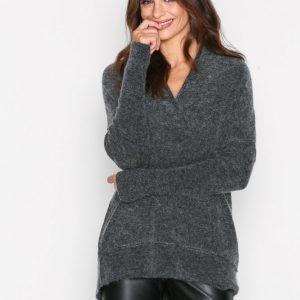 By Malene Birger Zonia Knitwear Neulepusero Dark Grey Melange