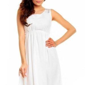 CC Fashion valkoinen mekko