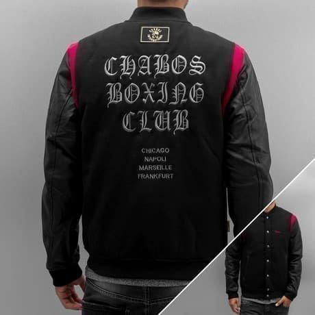 CHABOS IIVII Collegetakki Musta
