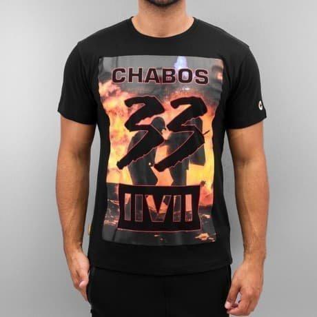 CHABOS IIVII T-paita Musta