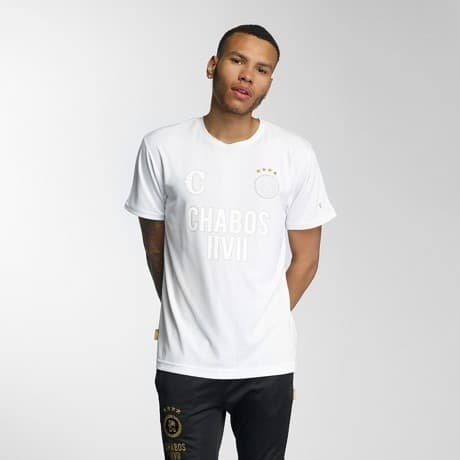 CHABOS IIVII T-paita Valkoinen