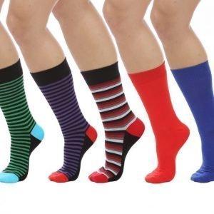 Cai Socks Cai Socks 5-Pack Puuvillasukat Värikäs
