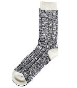 Cai Socks Ernst Cai Rugged Socks Black/Off White