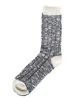 Cai Socks Ernst Cai Rugged Socks Black/Off White