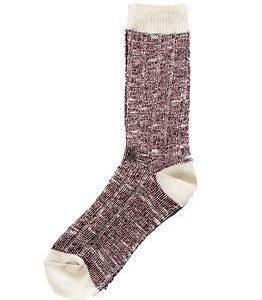 Cai Socks Ernst Cai Rugged Socks Red/Off White