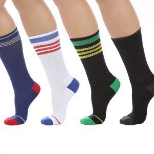 Cai Socks Socks Sport 4-Pack Puuvillasukat Värikäs