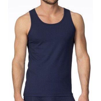 Calida Pure & Striped Athletic Shirt Navy