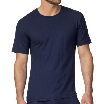Calida Pure & Striped T-Shirt Navy