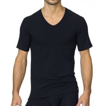 Calida Pure & Striped V-Neck T-Shirt
